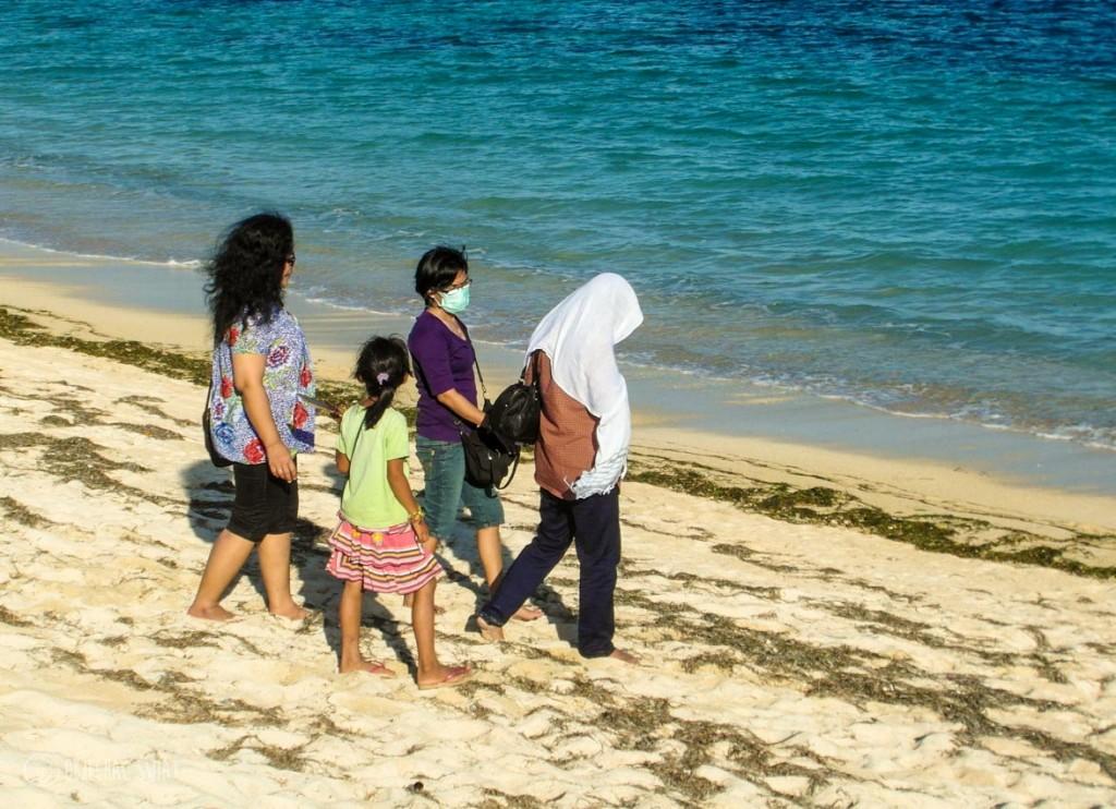 Mafia branzoletkowa na Lomboku