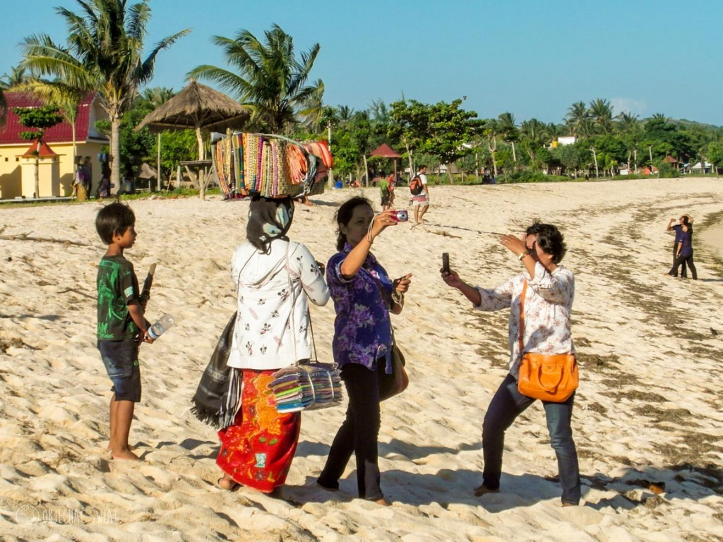 Mafia branzoletkowa na Lombok