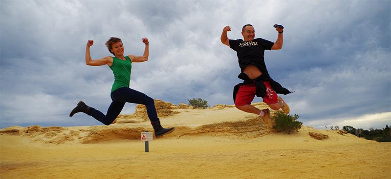 Pustynia z ogórkami czyli tajemnicza Pinnacles Desert <br>#Mystery of cucambers